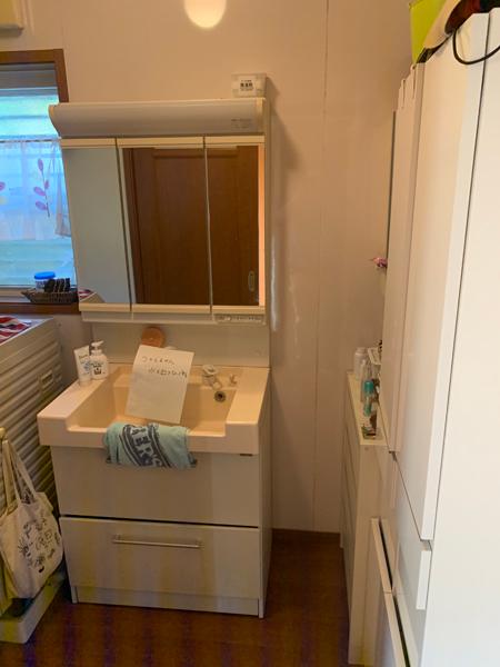 洗面台施工事例